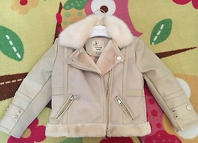 River Island Mini Baby Girl Jacket 12-18 Months BRand New