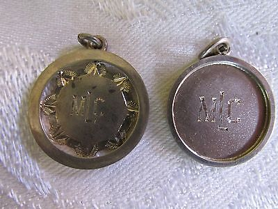 2 Vintage MLC Sports medals Medallions Private School Sports Awards Life Saving