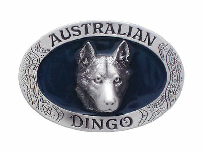 Australian Dingo Belt Buckle Brand New