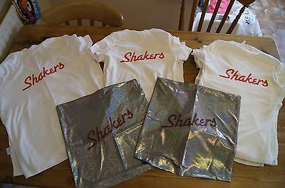 Shakers t-shirts & cushion covers set John Godber stage play costume