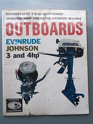 1964/1972 Evinrude Johnson 3Hh & 4Hp Outboard Engines Workshop Manual