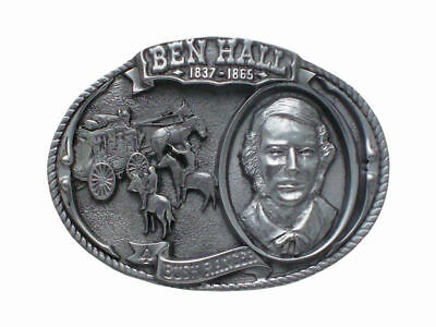 Ben Hall Bushranger Belt Buckle Brand New