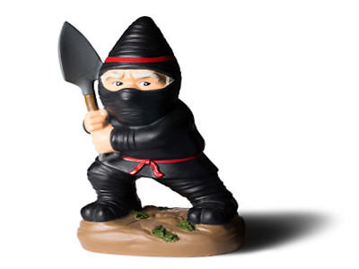 The Ninja Garden Gnome Brand New