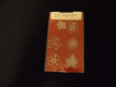 American Traditional Designs LIL CHARMS metal charms Flower Buds
