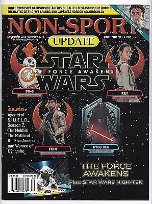 2016 Non Sport Update Magazine and Price Guide Star Wars The Force Awakens