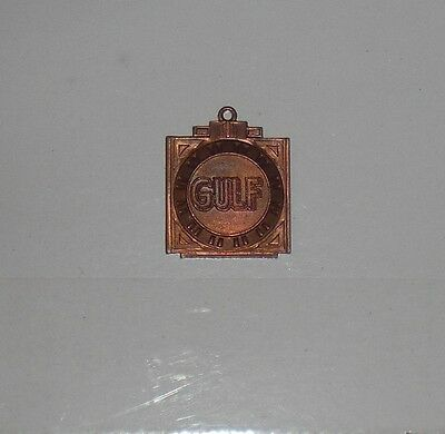 Gulf 1937 Spring Motor Oil Sales Medallion