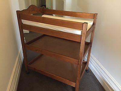 Wooden Baby Change Table  Australiana Heirloom Collection