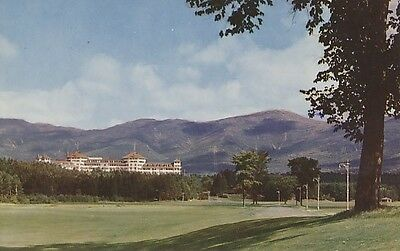 Postcard - Mt. Washington Hotel, White Mountains, Bretton Woods, N. H.