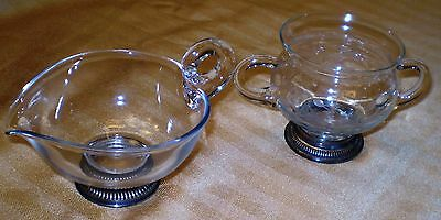 Sterling Silver Vintage Sugar & Creamer Frank M. Whiting & Co.