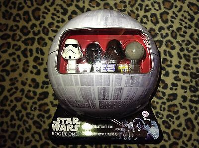 Star Wars Rogue One PEZ Collectible Tin Trooper Rare Disney set low production