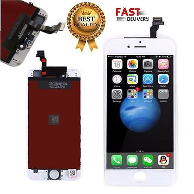 Iphone 6 6G A1586 White Lcd Display Screen Touch Digitizer Replacement Assembly