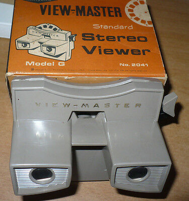 Visore View Master Model G N.2041 Standard Stereo Viewer Sawyers Originale