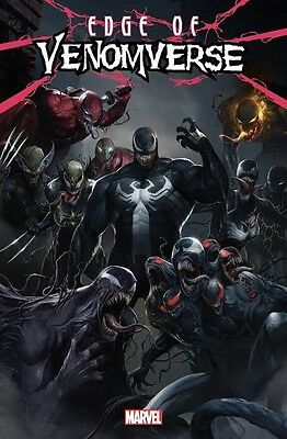 EDGE OF VENOMVERSE 1 1:50 VARIANT CGC 9.8 SS signed by FRANCESCO MATTINA PRESALE