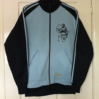 Muhammad Ali - Rare Adidas Zaire 1974 Track Suit Top - Great Condition - Size S