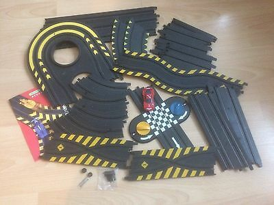 Scalextric Track Bundle Straights Curves Lap Counter Hairpin Chicane Crossovers