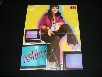 ASHLEE SIMPSON  magazine clippings lot No2 with POSTER