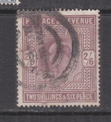 GREAT BRITAIN, 1902 KEVII 2s.6 Dull Purple, used.