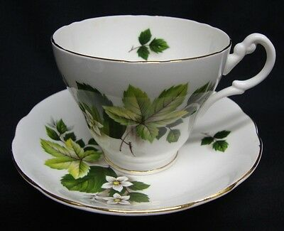 ROYAL ASCOT Bone China Tea Cup And Saucer ~ Made in England