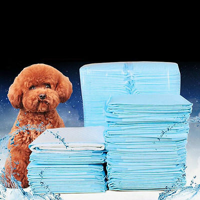 5Pc Disposable Dog Puppy Diapers Nappy Pee Training Pad Toilet Pet Mat S/M/L/XL