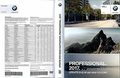 BMW Road Map Europe Professional 2017 3 DVD disc's
