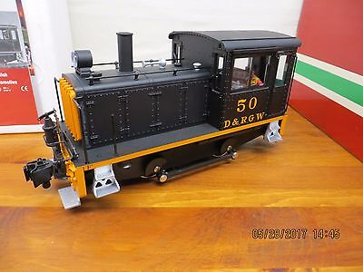 Lgb 20635 G Scale, 50 D&rgw  Diesel Switcher Locomotive, New In Box