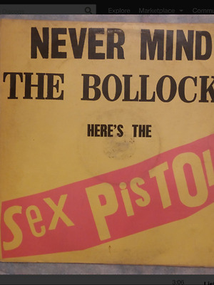 SexPistols - Turkish - Never Mind The Bollocks S+S label 1977