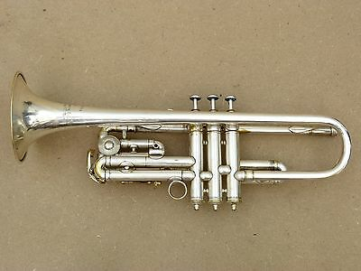Antoine Courtois Bb/C + A-valve silver plated trumpet