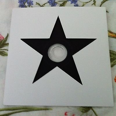 David Bowie - 2015 Blackstar Sony Promo Cd For Radio Stations - Die-Cut Sleeve