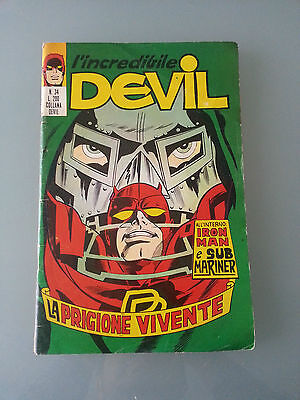 l'incredibile devil 34 la prigione vivente