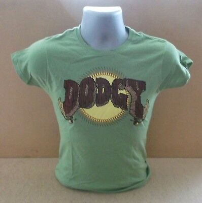DODGY Stand Upright In A Cool Place ltd ladies short sleeve T shirt UNWORN Small