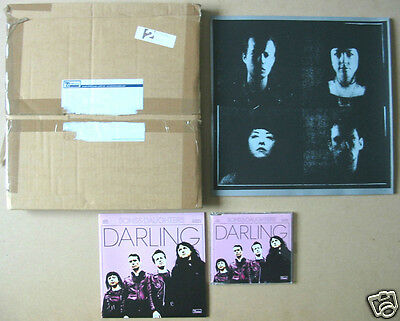 """SONS & DAUGHTERS Darling 50-only promo art print + Domino mailer & 7""""/CD formats"""