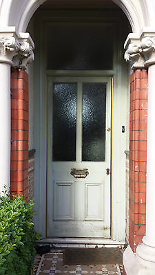 victorian front door glazed