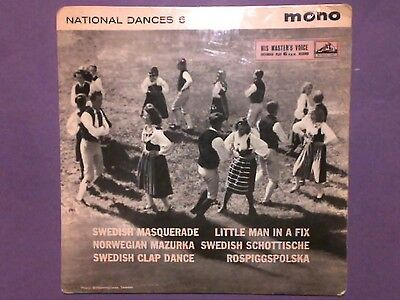 """National Dances 6 (7"""" EP) picture sleeve 7EG 8755"""