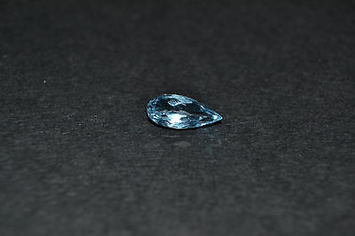 Aigue Marine taille goutte 2,65 ct origine Madagascar