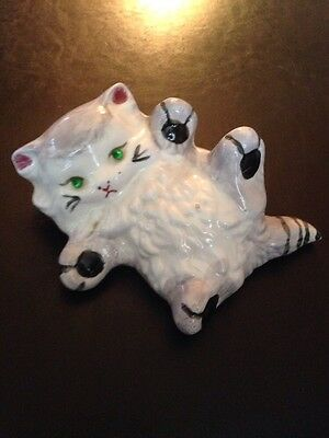 Vintage Kitty Cat Wall Plaque