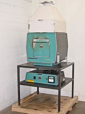 Lindberg Blue M 1200 Heavy-Duty Box Furnace and Controller/Power Supply 51542-S
