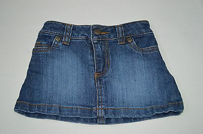 Carter's Baby Girls Jean Skirt with bloomers Size 12 MOS  EUC