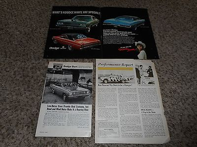 "Vintage Original 1968 Dodge Dart Coronet Polar Magazine Ad Advertisement 17""x11"""