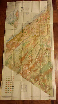 Vintage soil survey map 1925 St Lawrence County New York Potsdam Canton old map