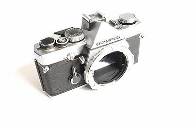 Olympus M-1 SLR camera body RARE TESTED WITH FILM WORKING OM-1