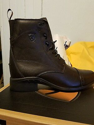 ARIAT HERITAGE III LACE-UP PADDOCK RIDING BOOT CHOCOLATE size 10  10000810