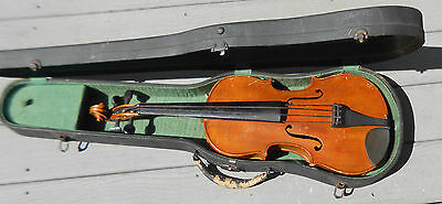 old German  violin full size for minor repair