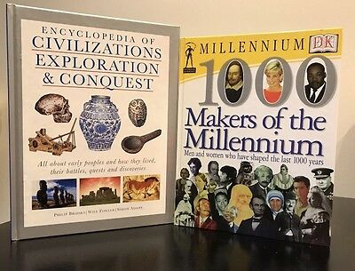Encyclopedia Of Civilizations + Makers Of The Millennium + FREE Stuff!