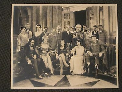 John Barrymore -1926  Original Studio Cast Don Juan Photo - Oland - Myrna Loy