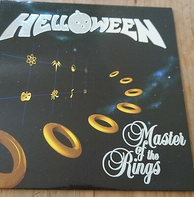 Helloween Master of the Rings Original release 1994 Rare Embossed cover