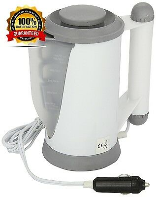 12V  Portable Camping Festival Motorhome In Car Travel Kettle Electric Brand New