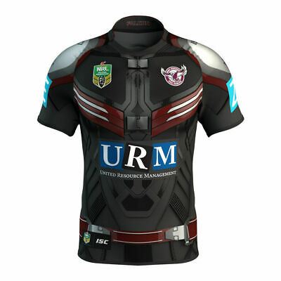 Manly Sea Eagles ISC 2017 NRL Falcon Marvel Jersey Adults & Kids Sizes!