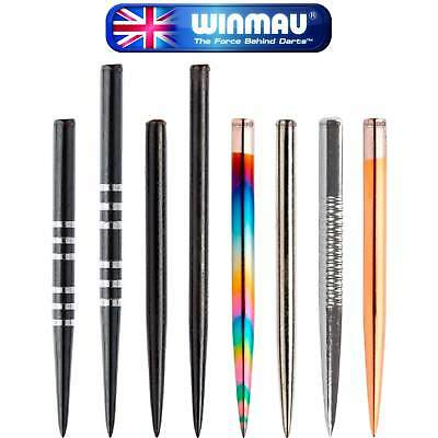 Winmau   Replacement Dart Points   New Steel Tip Dart Point   Spare Darts Points