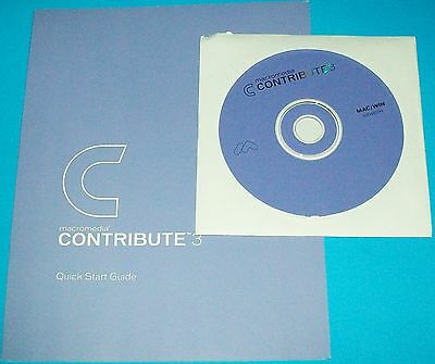 Adobe Macromedia Contribute 3 Full Version For Windows/mac On Cd With Guide