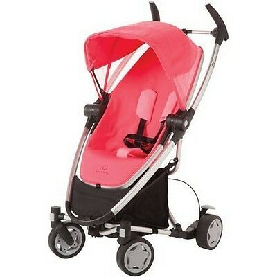 Quinny CV262BYP Zapp Xtra Stroller With Folding Seat Pink Precious NEW